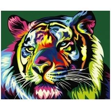 Tapymas pagal skaičius: Karališkas tigras (50x40cm T40500099)