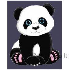Tapymas pagal skaičius: Panda (16.5x13 cm T16130005)