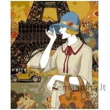 Tapymas pagal skaičius: Parisian Adventures - Helena Lam (50x40cm T50400113)