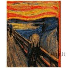 Tapymas pagal skaičius: Scream - Edvard Munch (50x40cm T50400154)