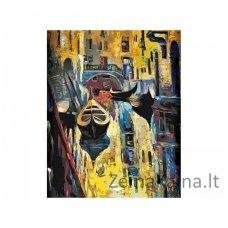 Tapymas pagal skaičius: Venecija (50x40cm T50400092)