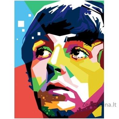 Tapymas pagal skaičius: Paul McCartney (50x40 cm T50400022)
