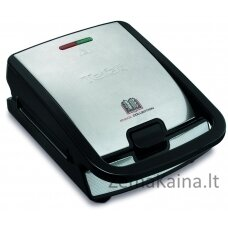 Tefal Snack Collection SW 852 D sandwich maker 700 W Black,Stainless steel