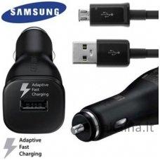 Automobilinis įkroviklis Samsung ECA-U21CBE 12/24V 5V Charger + Micro USB laidas (EU Blister), Micro USB
