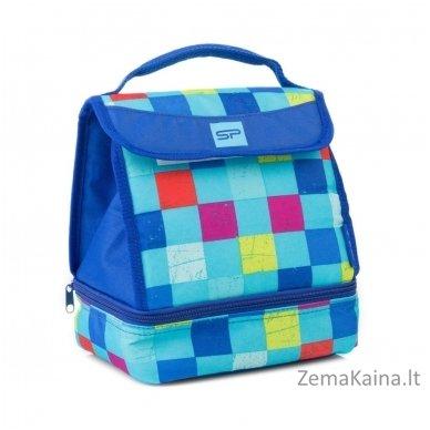 Termo krepšys Spokey Lunch Box Blue