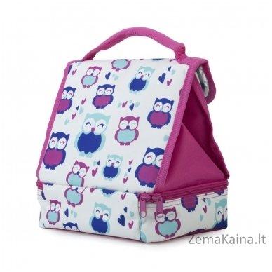 Termo krepšys Spokey Lunch Box Pink 3