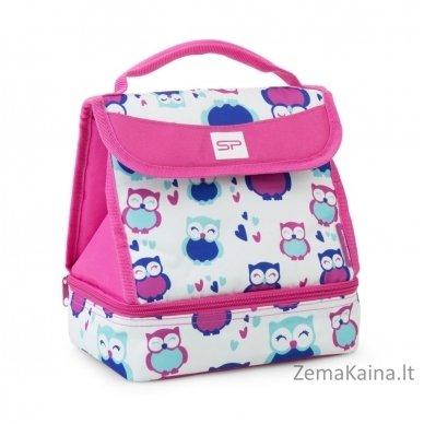 Termo krepšys Spokey Lunch Box Pink