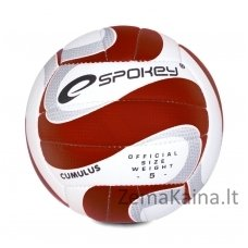 Tinklinio kamuolys Spokey CUMULUS II Raudona/Balta (5 dydis)