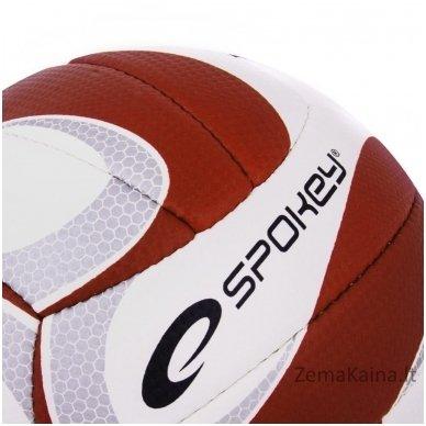 Tinklinio kamuolys Spokey CUMULUS II Raudona/Balta (5 dydis) 3