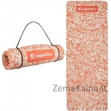 Treniruočių kilimėlis inSPORTline Camu 173x61x0,8cm - Orange Camu
