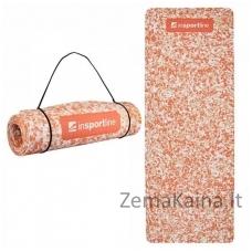 Treniruočių kilimėlis inSPORTline Camu Orange 173x61x0.8cm