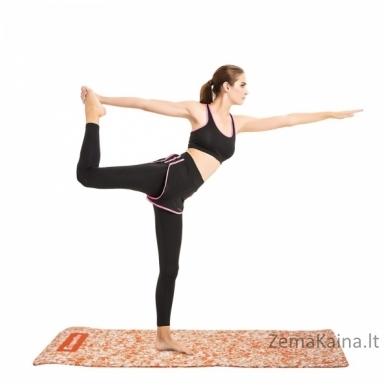Treniruočių kilimėlis inSPORTline Camu Orange 173x61x0.8cm 2