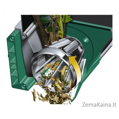 Tyliai veikiantis šakų smulkintuvas Bosch AXT 25 TC 2