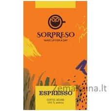 Kavos pupelės SORPRESO Espresso 250 g