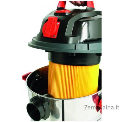 Universalus siurblys GRIZZLY Caramba CP-WDE 2314-S Inox + 5 maišeliai DOVANŲ 7