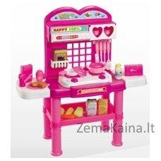 Vaikiška virtuvėlė su muzikėle ir priedais