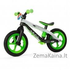 Vaikiškas balansinis dviratukas (iki 35kg) Chillafish BMX RS Green