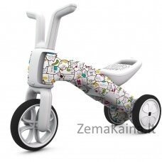 Vaikiškas balansinis dviratukas - triratukas 2in1 (iki 25kg) Chillafish Bunzi FAD Catmouflage