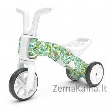 Vaikiškas balansinis dviratukas - triratukas 2in1 (iki 25kg) Chillafish Bunzi FAD Girafitti