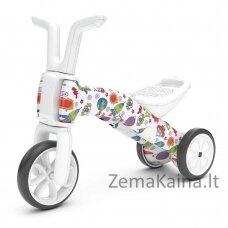 Vaikiškas balansinis dviratukas - triratukas 2in1 (iki 25kg) Chillafish Bunzi FAD Stars