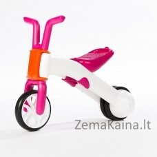 Vaikiškas balansinis dviratukas - triratukas 2in1 (iki 25kg) Chillafish Bunzi Pink