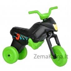 Vaikiškas balansinis triratukas (iki 20kg) Enduro Maxi Black-Green