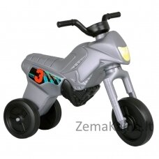 Vaikiškas balansinis triratukas (iki 20kg) Enduro Maxi Silver