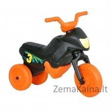 Vaikiškas balansinis triratukas (iki 20kg) Enduro Mini Black-Orange