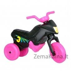 Vaikiškas balansinis triratukas (iki 20kg) Enduro Mini Black-Pink