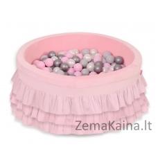 Vaikiškas kamuoliukų baseinas Bright Pink