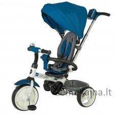 Vaikiškas triratis 2in1 paspirtukas - dviratukas Coccolle Urbio -  Blue