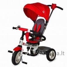 Vaikiškas triratis vežimėlis-dviratukas Coccolle Urbio Air - Red