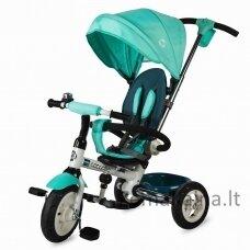 Vaikiškas triratis vežimėlis-dviratukas Coccolle Urbio Air - Turquiose