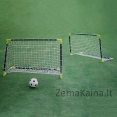 Vaikiški futbolo vartai Spartan Mini Goal Set 76x66x52cm (2vnt.)