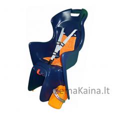 Vaikiška dviračių kėdutė AUTHOR Boodie (Mėlyna/Oranžinė)