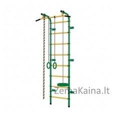 Vaikiškos (švediškos) laipiojimo kopetėlės PIONER-C1P (Green/Yellow)