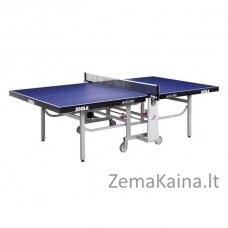 Varžybinis stalo teniso stalas Joola Rollomat ITTF -  Blue