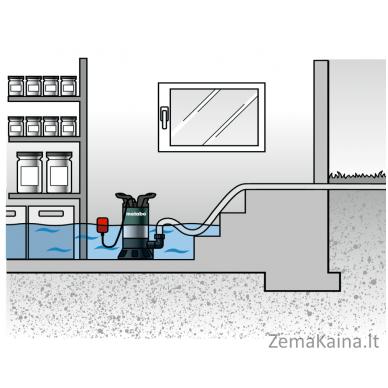 Panardinamas vandens siurblys METABO PS 7500 S 2