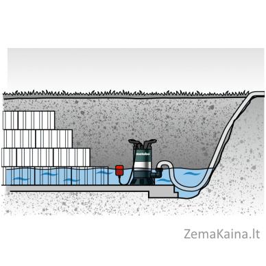 Panardinamas vandens siurblys METABO PS 7500 S 3
