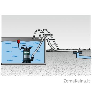 Panardinamas vandens siurblys METABO PS 7500 S 4