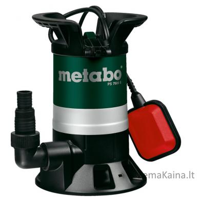 Panardinamas vandens siurblys METABO PS 7500 S