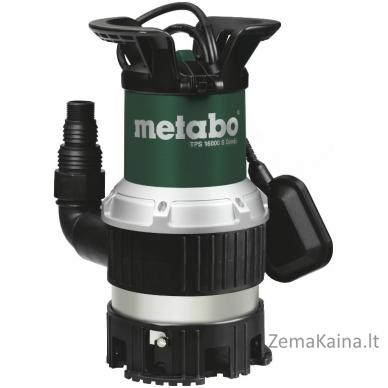 Vandens-purvo siurblys TPS 16000 S Combi, Metabo