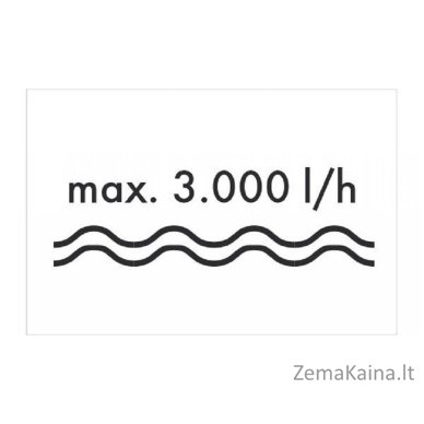 Vandens siurblys 600W Grizzly GP 3032 Inox 5