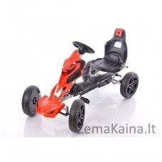 Velomobilis (Velomobile) Go-Kart 1504 Red
