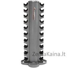 Vertikalus hantelių stovas su plastikiniais padėkliukais inSPORTline RK2086 PRO