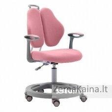 """""""Vetta II Pink"""" - kėdė su reguliuojamu aukščiu ir porankiais"""