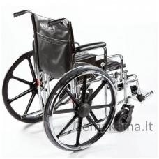 Vežimėlis neįgaliems sunkiasvoriams STEELMAN XL