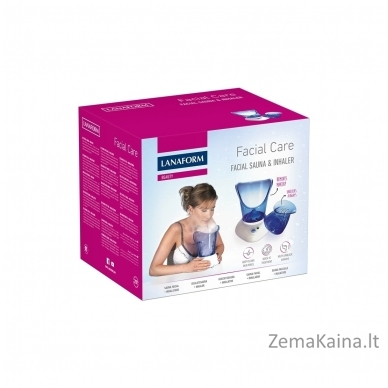 Veido valymo aparatas - veido sauna Lanaform Facial Care 4