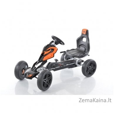 Velomobilis (Velomobile) Go-Kart 1504 Black