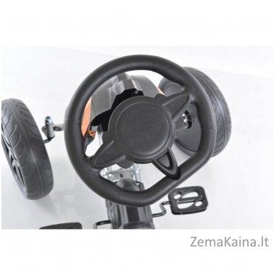 Velomobilis (Velomobile) Go-Kart 1504 Black 9